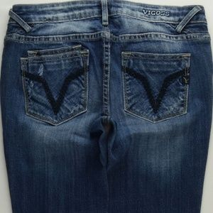 Vigoss Destroyed Skinny Jeans Juniors 3 A463J